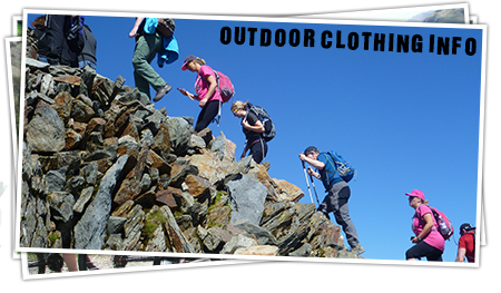 Outdoor Clothing Info