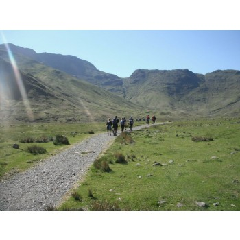 The Meridian Lakes 5 Peaks Challenge for charity