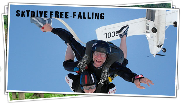 Skydiving - Freefalling