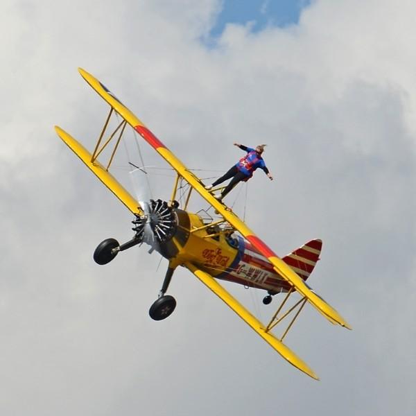 Wingwalking Challenge - Headcorn Aerodrome, Kent