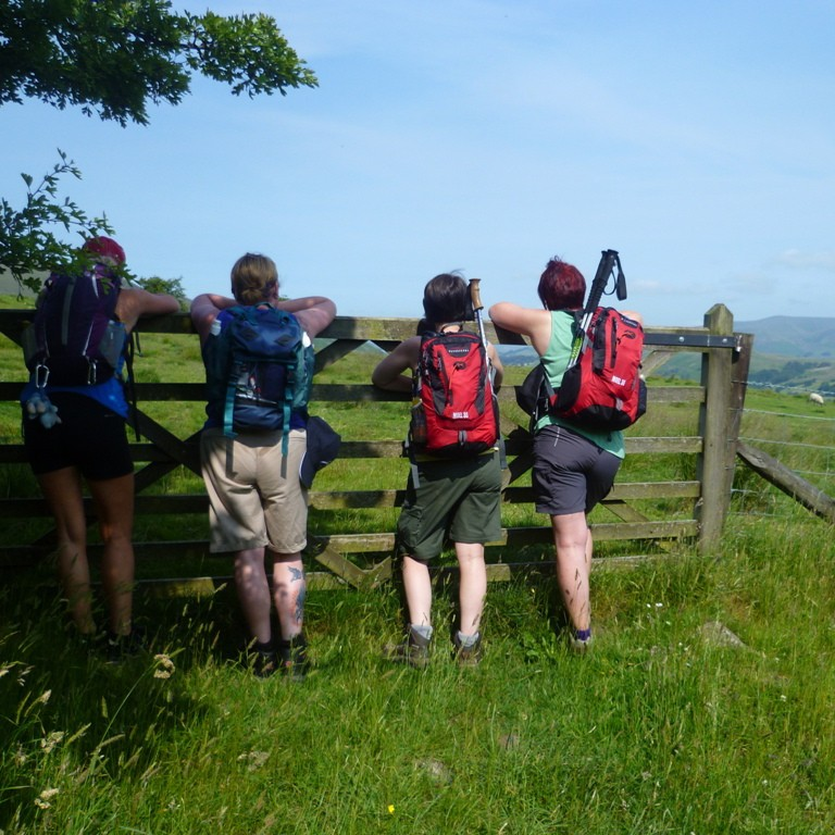 The Yorkshire 3 Peaks Charity challenge