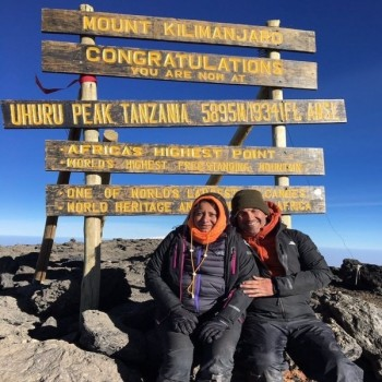 The Bowel & Cancer Research Kilimanjaro Challenge - 2021