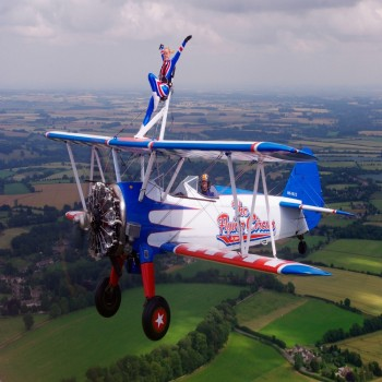 Wingwalking - Cirencester / Gloucestershire